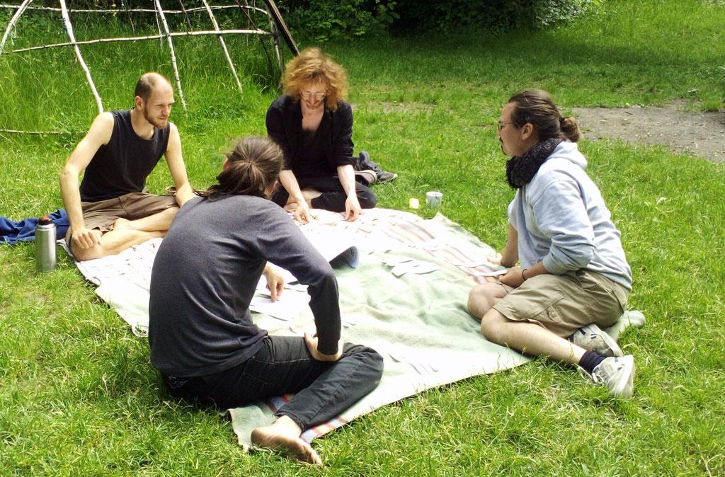 Gaiagames Kollektiv - Micha, Nils, Richie, Kevin