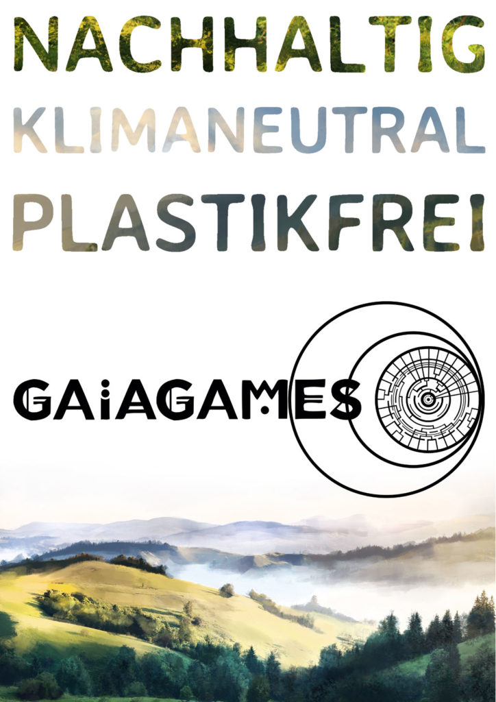Gaiagames Kollektiv: nachhaltig, klimaneutral, plastikfrei